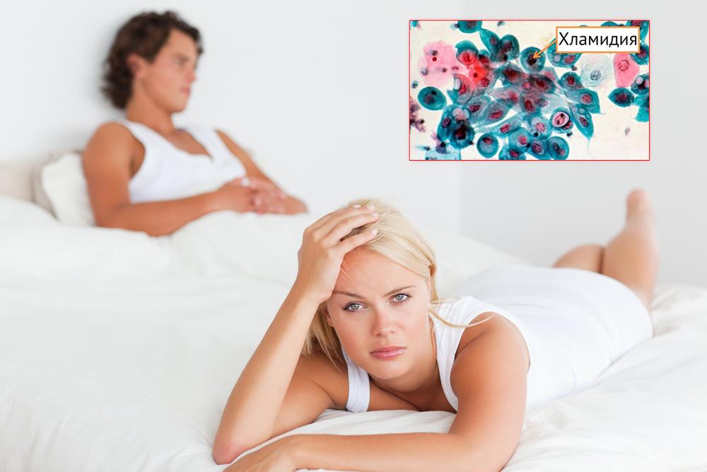 Один из путей передачи инфекции - секс