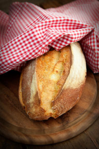 Свежий хлеб;