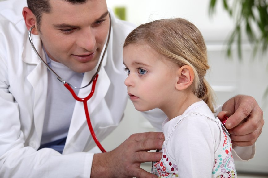 У ребенка протекание болезни чаще всего происходит в острой форме