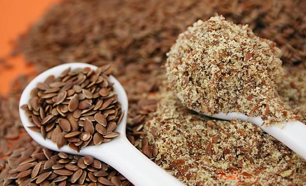 Порошок из семян льна