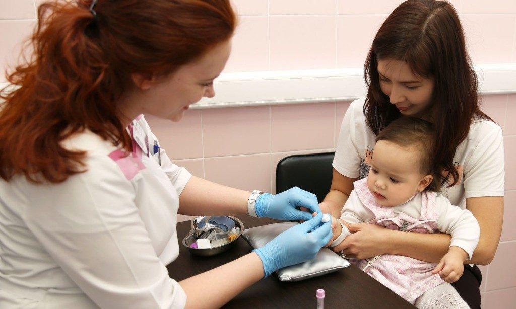 Анализ крови при глистах у детей